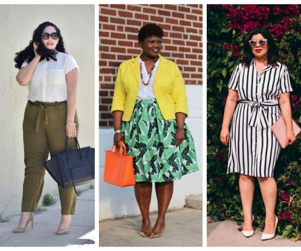 dfbceed9242 How To Look Chic At Work During The Summer Plus Size Style