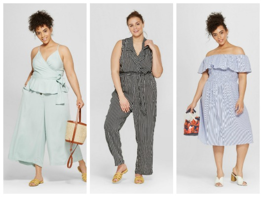 4ef893df085a New Summer Plus Size Styles From Who What Wear Target Collection