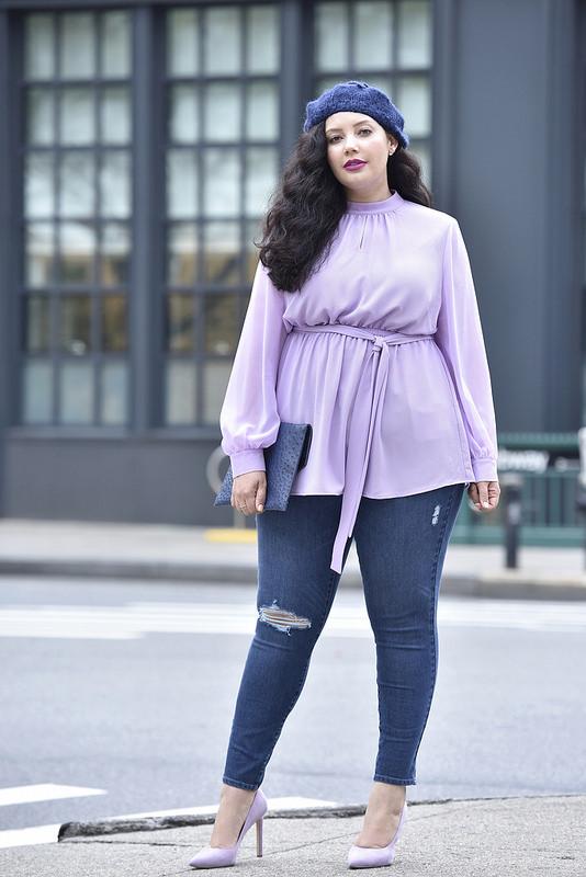 Plus Size Blogger Style During Fashion Week Stylish Curves