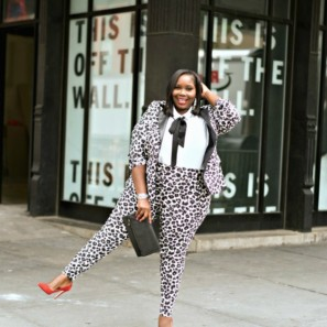b73bf121266 How To Wear A Plus Size Leopard Print Suit