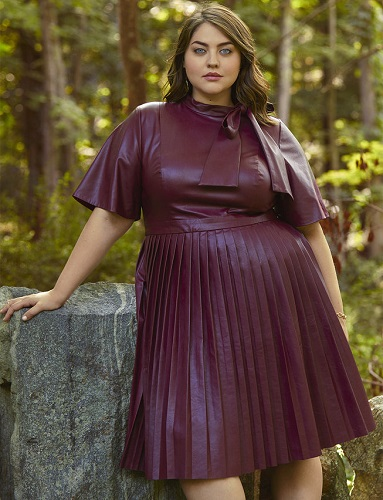 10 Stylish Plus Size Leather Looks For Fall | Stylish Curves