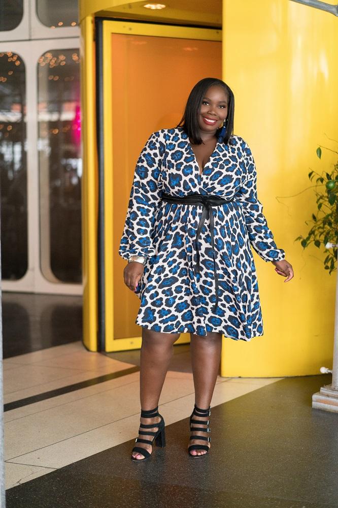 plus size leopard print dresses from asos curve john zack
