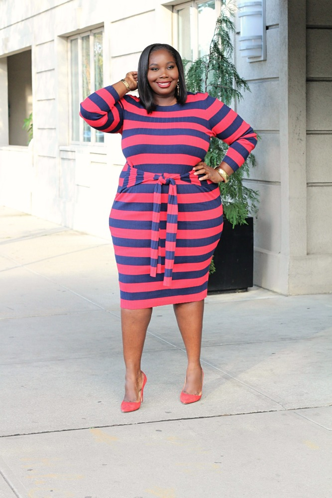17ff8e8b48e 10 Sexy Chic Plus Size Sweater Dresses That Highlight Your Curves ...