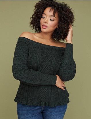 65a4f9ca88e 10 Stylish Fall Plus Size Sweaters That Go Perfect With Jeans ...