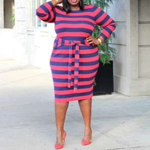 6e4936a8d8d 10 Sexy Chic Plus Size Sweater Dresses That Highlight Your Curves