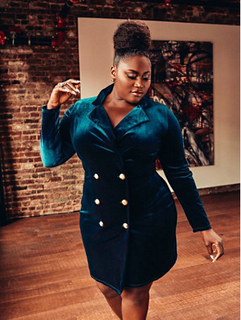 c141367bcee Fashion To Figure X Danielle Brooks Holiday Plus Size Collection ...
