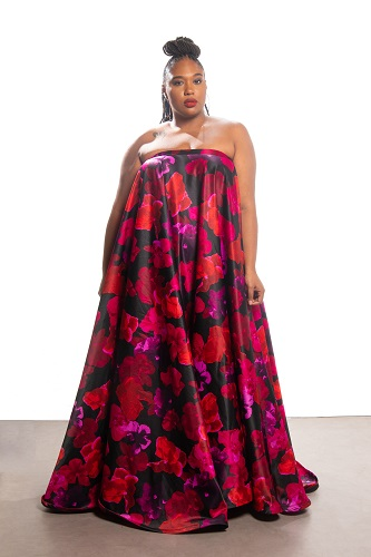 42cc946a4bf Plus Size Designer Courtney Noelle Creates A Holiday Collection Inspired By  Cardi B.