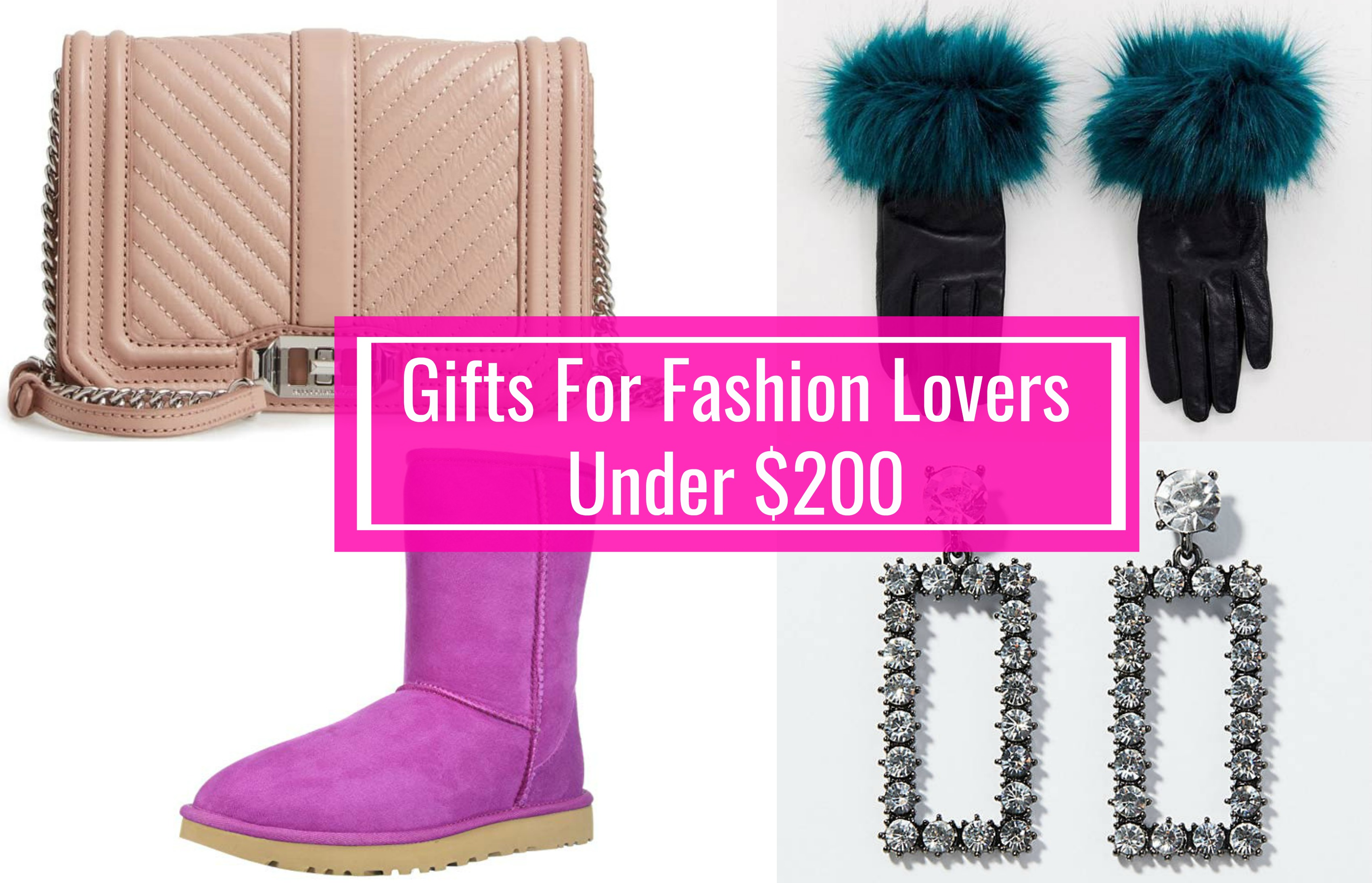 gift ideas for fashion lovers under $200