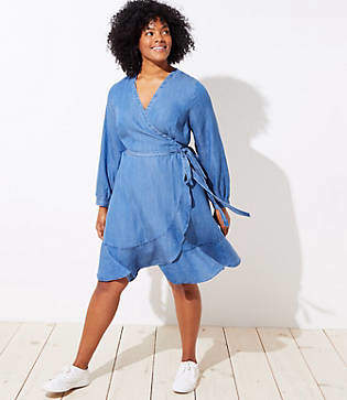 Must Have Plus Size Denim Dresses You Need For Spring | Stylish Curves