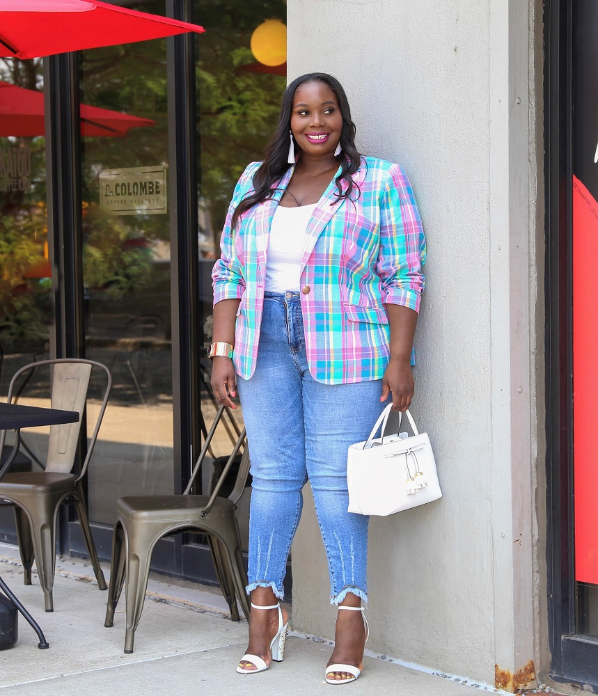 12fa415ff54 10 Plus Size Summer Blazers You Didn't Know You Needed | Stylish Curves